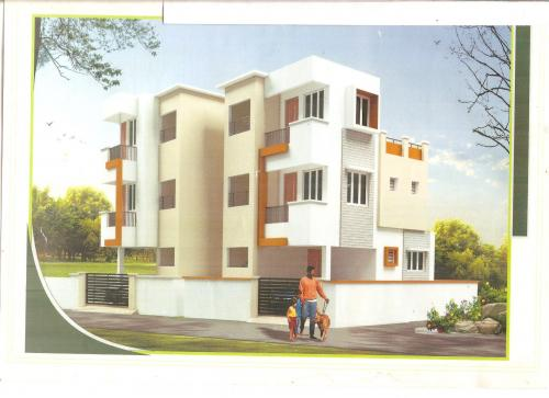mopet duplex house elevation 001