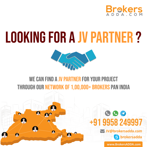Looking for a JV partner for your project ?